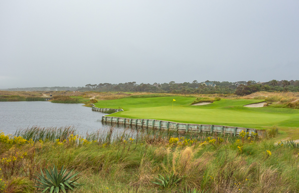 The Seventeenth at the Ocean Course
