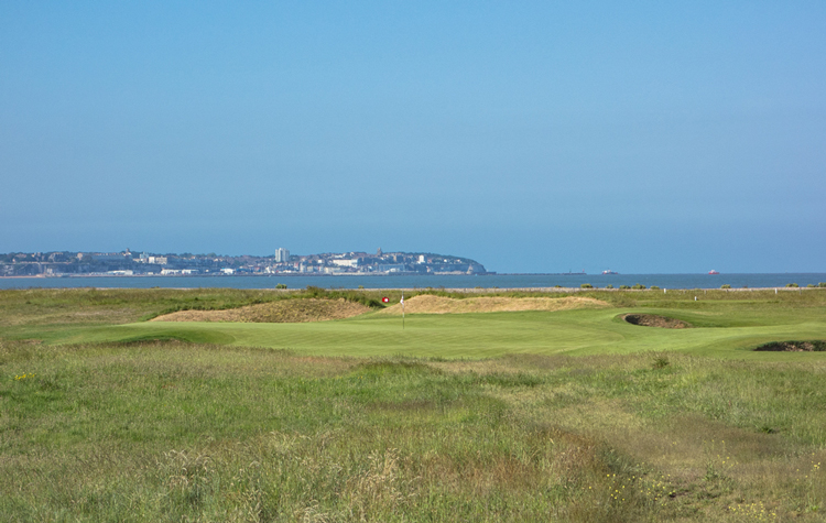 The eleventh at Royal St. George's
